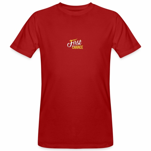 Logo Album First Chance - T-shirt bio Homme