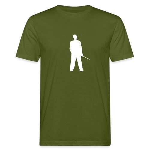 silhouette rkelly blanc - T-shirt bio Homme