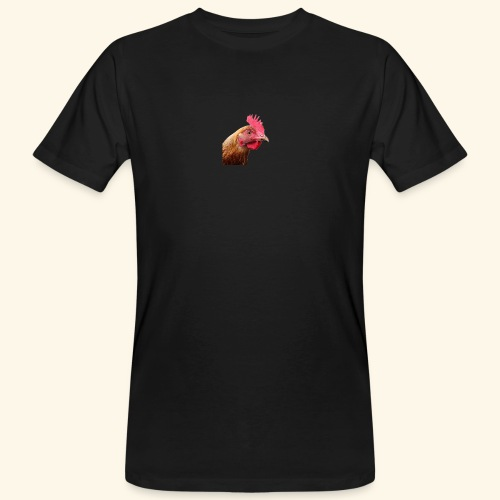 chicken PNG2159 - Miesten luonnonmukainen t-paita