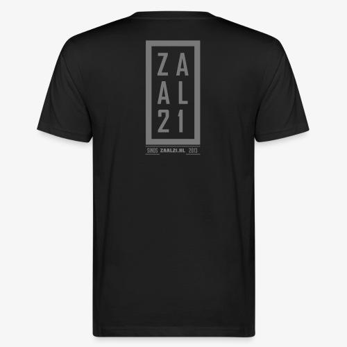 T-SHIRT-BLOK - Mannen Bio-T-shirt