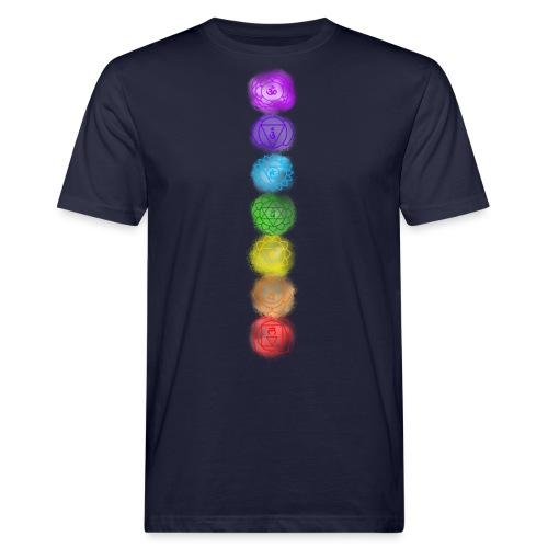 linea chakra - T-shirt ecologica da uomo