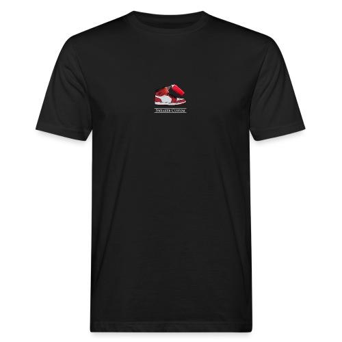 Sneaker Custom Logo /white text - Männer Bio-T-Shirt
