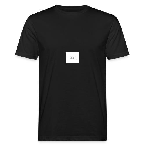 nice - Männer Bio-T-Shirt