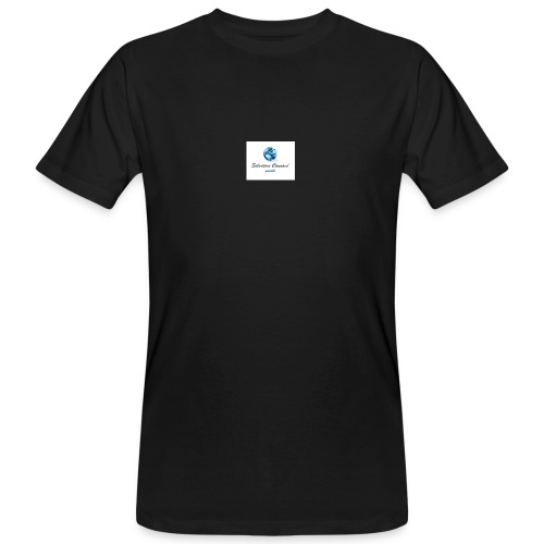 logo youtube - T-shirt ecologica da uomo