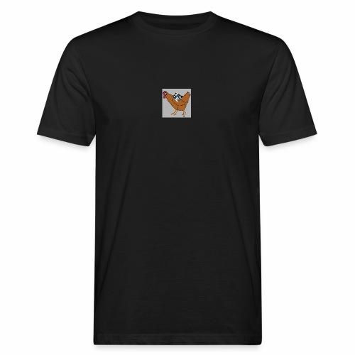 Quad Chicken Logo - Men's Organic T-Shirt
