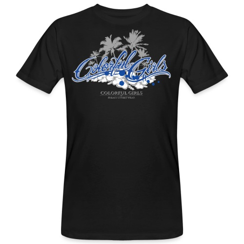 Colorful Girls Logo - Männer Bio-T-Shirt