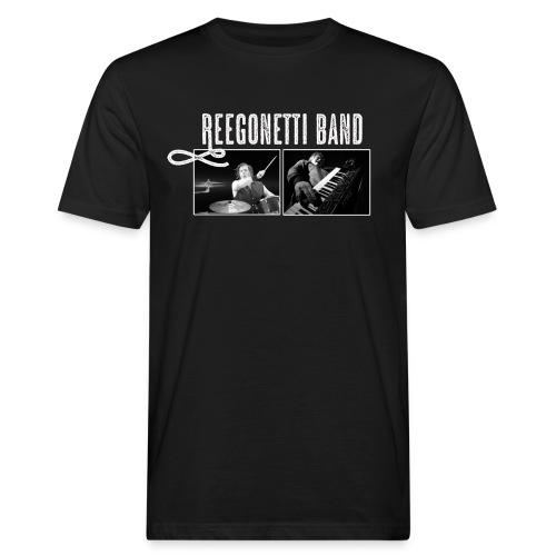 Reegonetti Band Live - Ekologisk T-shirt herr