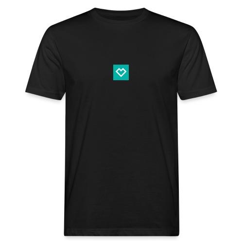 logo social media - Miesten luonnonmukainen t-paita