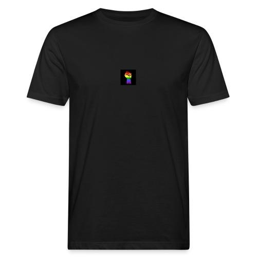 Lgbt Faust Protest schwarzer Hintergrund - Männer Bio-T-Shirt