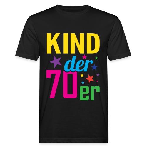 Kind der 70er - Männer Bio-T-Shirt