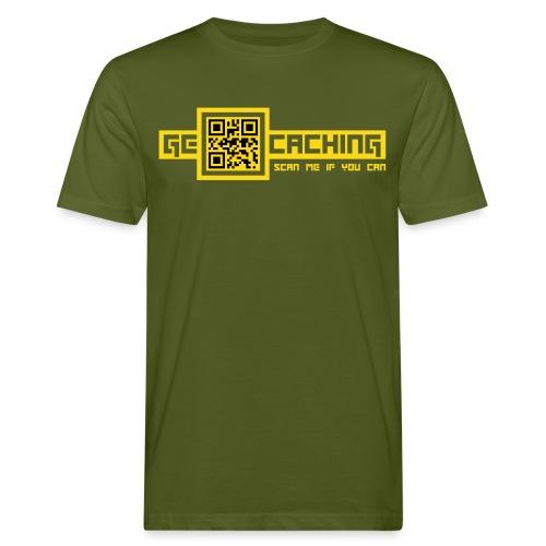 QRCode - 2colors - 2011 - Männer Bio-T-Shirt