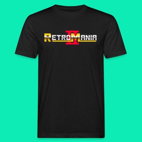 Retro Mania II - Logo - Männer Bio-T-Shirt
