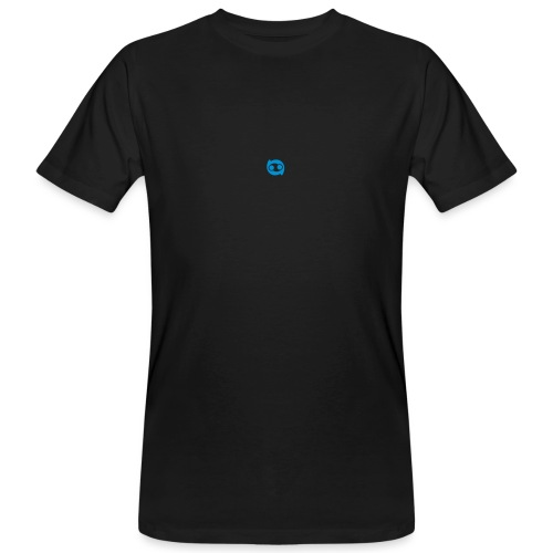 Justlo Smiley - Männer Bio-T-Shirt