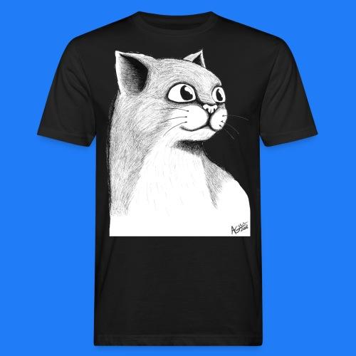 CAT HEAD by AGILL - T-shirt bio Homme