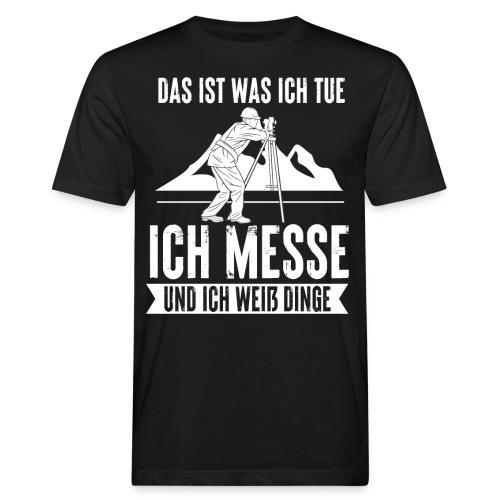Geomatiker Vermesser Geodäsie Vermessungstechniker - Männer Bio-T-Shirt