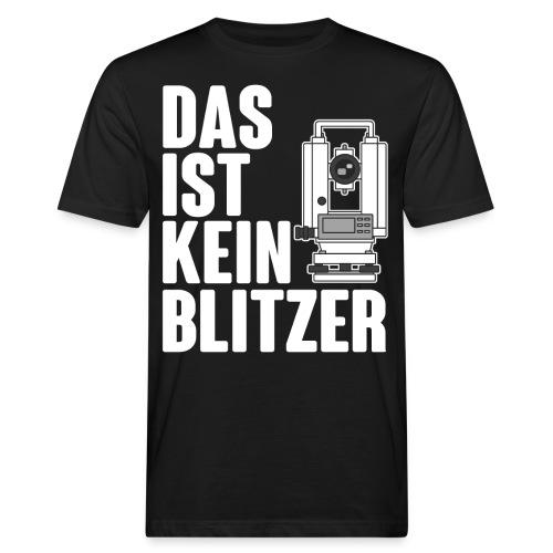 Vermessungstechniker Theodoloit Blitzer Geomatiker - Männer Bio-T-Shirt