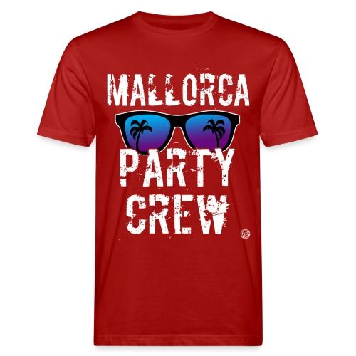 MALLORCA PARTY CREW Shirt - Damen Herren Frauen - Mannen Bio-T-shirt