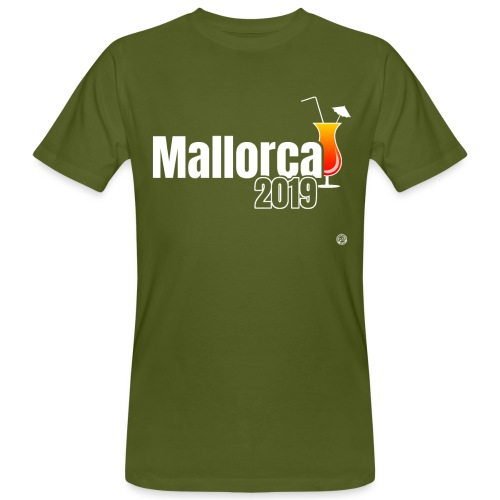 MALLE 2019 Cocktail Shirt - Mallorca Shirt - Mannen Bio-T-shirt