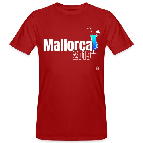 MALLORCA 2019 Cocktail Shirt - Malle Shirt - Mannen Bio-T-shirt