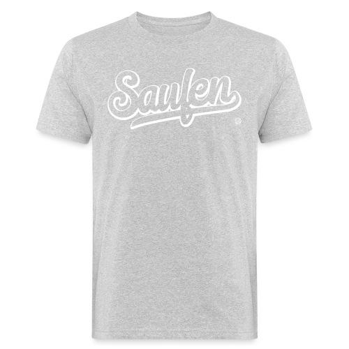 SAUFEN SHIRT - Damen Herren Frauen Männer T Shirt - Mannen Bio-T-shirt