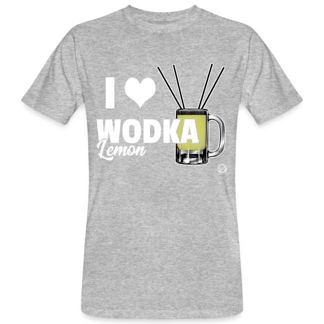 I LOVE WODKA LEMON Shirt - Vodka Shirt