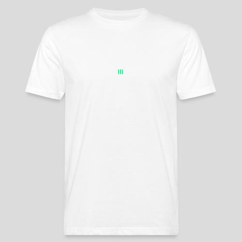 III Logo - Men's Organic T-Shirt