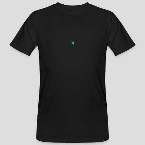 III Logo - Men's Organic T-Shirt