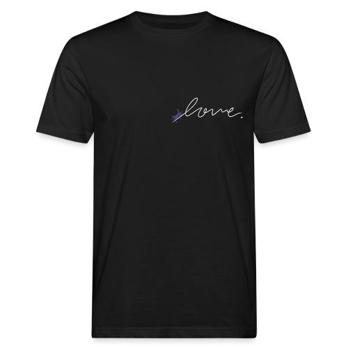 Purple Love ARMY (white) - Men's Organic T-Shirt