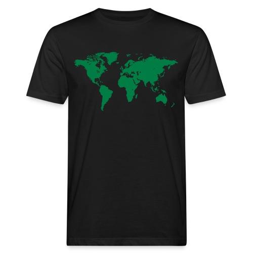 World Map - Männer Bio-T-Shirt