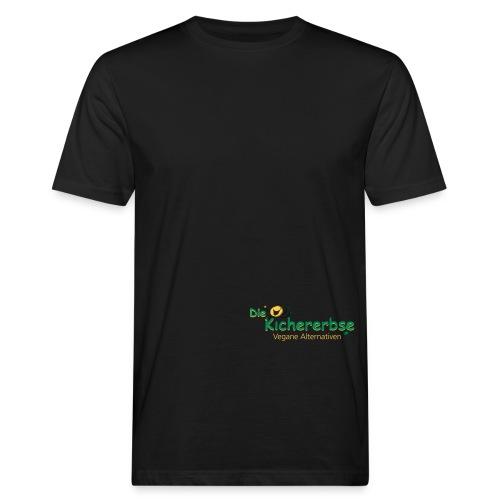 Kichererbse Logo eps - Männer Bio-T-Shirt