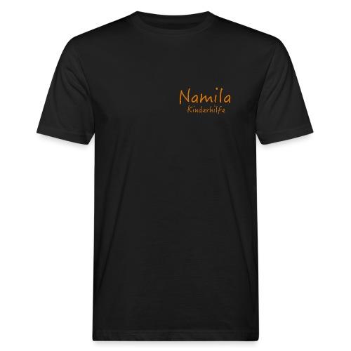 Namila Kinderhilfe Schrif - Männer Bio-T-Shirt