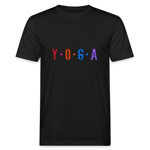 YOGA COLOR - Camiseta ecológica hombre