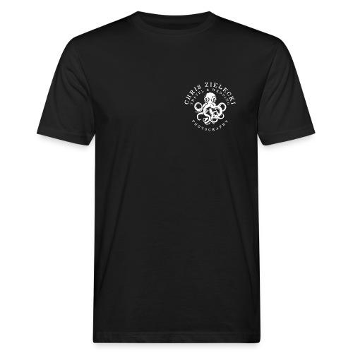 kraken-white - Männer Bio-T-Shirt