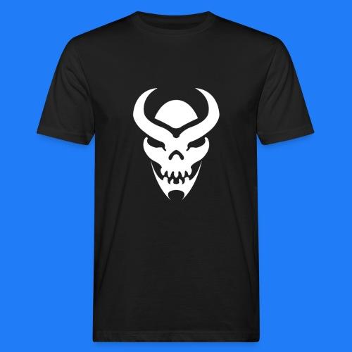 TRIBAL SKULL BLANC - T-shirt bio Homme