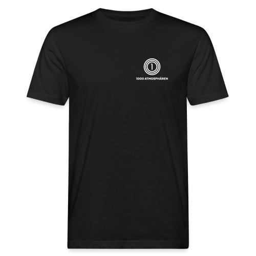1000 Atmosphären Logo - Männer Bio-T-Shirt