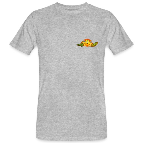 Angry Turtle Fluo - T-shirt bio Homme