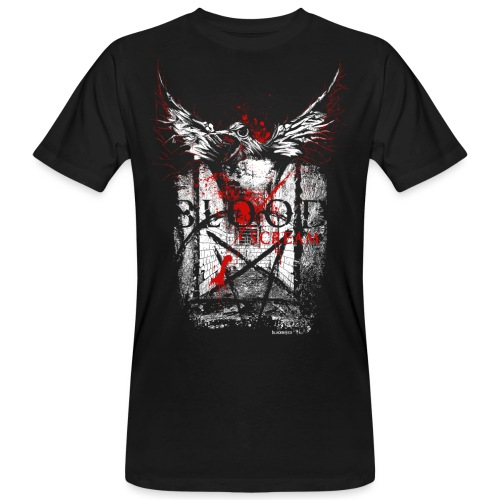 RAVEN | BLOOD SCREAM - Männer Bio-T-Shirt