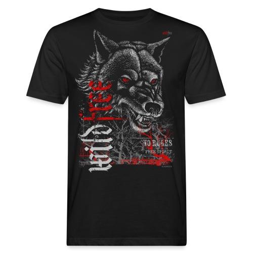 WILDFREE | WOLF - Männer Bio-T-Shirt