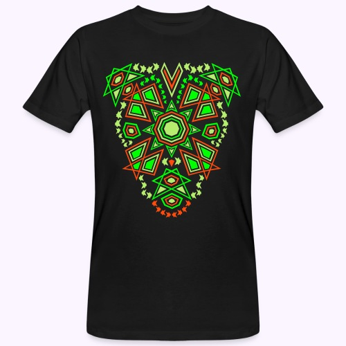 Tribal Sun Front - Camiseta ecológica hombre