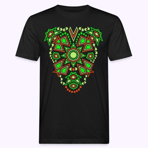 Tribal Sun Front - Miesten luonnonmukainen t-paita