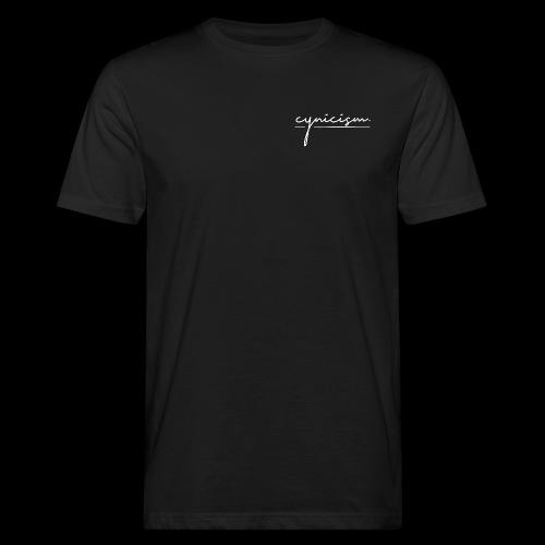 CYNICISM BLACK - Men's Organic T-Shirt