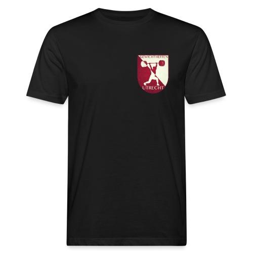 Oldschool Logo - Mannen Bio-T-shirt