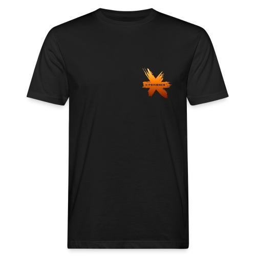 X-Perience Orange Logo - Männer Bio-T-Shirt