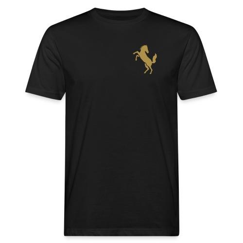 pferd 18 - Männer Bio-T-Shirt