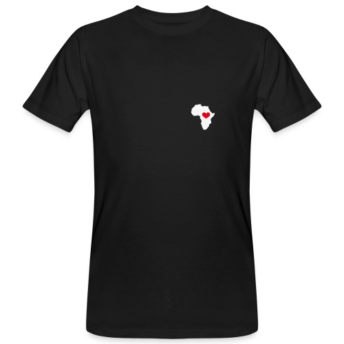 African Heart - Männer Bio-T-Shirt