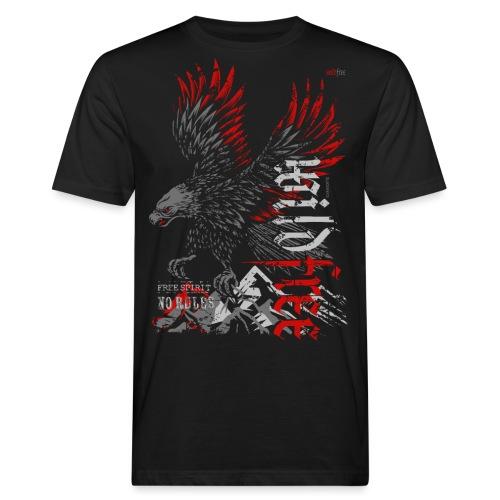 WILDFREE   EAGLE - Männer Bio-T-Shirt
