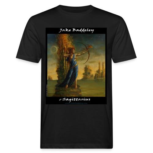 JakeBaddeley Sagittarius Black - Men's Organic T-Shirt