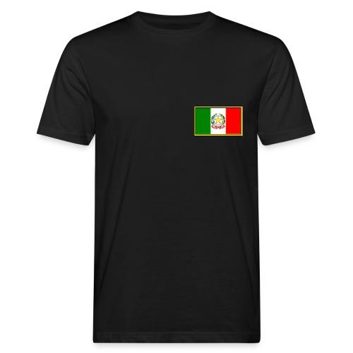 Bandiera Italiana - T-shirt ecologica da uomo