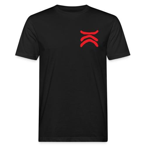 kc_iso_pun_transparent - Miesten luonnonmukainen t-paita