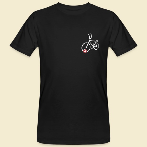 Radball | Cycle Ball Polo white - Männer Bio-T-Shirt